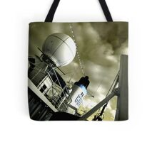 Funny Bubble, Bouy and Funnel, Doulos Hot and I'm in Trouble Tote Bag