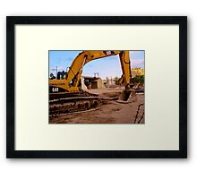 A DAY'S WORK AND MORE Framed Print