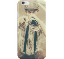 Extra extra read all about it iPhone Case/Skin