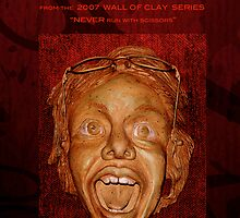 "WALL of CLAY: ""SCREAM!"" by Patricia Anne McCarty-Tamayo"