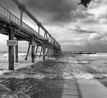 Sand Pumping Jetty by bidkev1