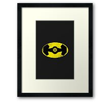 The Darth Knight Framed Print