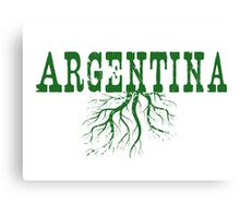 Argentina Roots Canvas Print