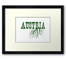 Austria Roots Framed Print