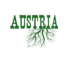Austria Roots Photographic Print