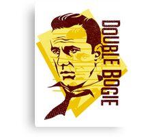 Humphrey Bogart retro graphic Canvas Print