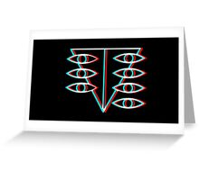 Seele Symbol Greeting Card