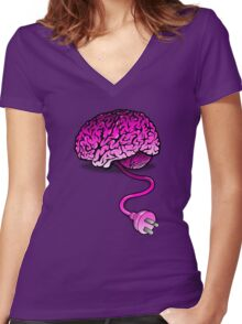 Anti-hangover Women's Fitted V-Neck T-Shirt