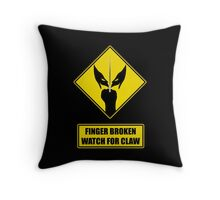 Watch for claw V.1 Throw Pillow