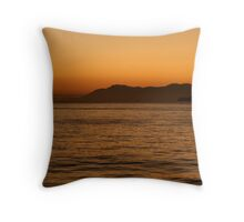 As the Day Comes to an End... Throw Pillow