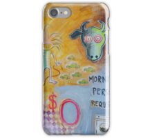 Morning Person Wanted iPhone Case/Skin