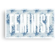 Feminist Floral No. 1 Canvas Print