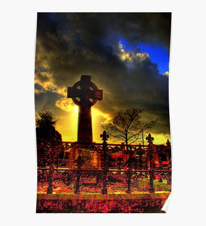 Lylo Celtic Cross Poster