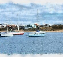 The Jetty, Bunbury, WA by Elaine Teague