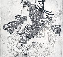 Lady of the lake III by Kagara