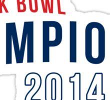 Asterisk Bowl Champions* 2014 Sticker