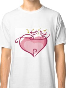Pink heart Classic T-Shirt