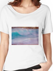 Waves at Sunset Women's Relaxed Fit T-Shirt