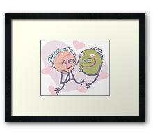 Valentine's in love Framed Print