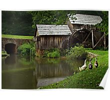 mabry mill Poster