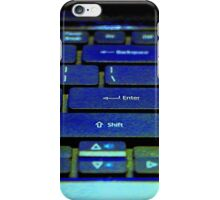 Enter At Your Own Risk iPhone Case/Skin