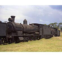 Old Steam Locomotive at Dorrigo, NSW, Australia Photographic Print
