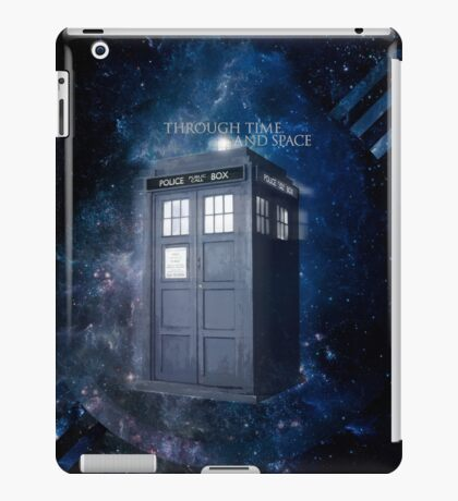 ThroughTime And Space iPad Case/Skin