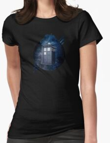 ThroughTime And Space Womens Fitted T-Shirt