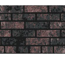 Ancient Blackrust Wall Photographic Print