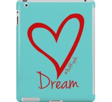DREAM....#BeARipple Red Heart on Tiffany iPad Case/Skin