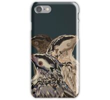 Digital Bird Illustration iPhone Case/Skin