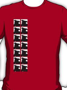 Staffy Dog Head Vertical T-Shirt
