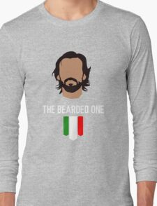 The bearded one - pirlo Long Sleeve T-Shirt