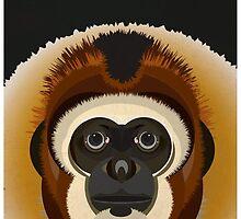 Monkey Digital Illustration by FUNCTIONALFOX