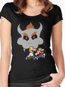 Super Runaway Bros! Women's Fitted Scoop T-Shirt
