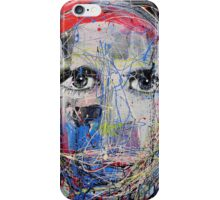 portrait of a young man as artist iPhone Case/Skin