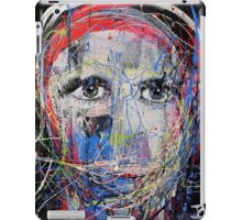 portrait of a young man as artist iPad Case/Skin