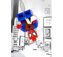 Lego Spiderman (without border) Photographic Print