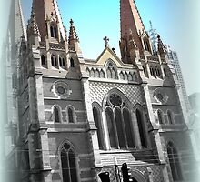 St Paul's Cathedral, Melbourne, Australia by SpikeyRose