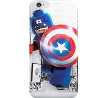 Lego Captain America iPhone Case/Skin