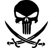 Pirate Punisher Photographic Print