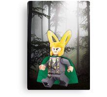 Lego Loki Canvas Print