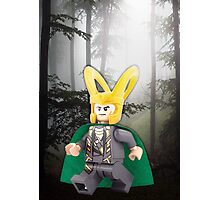 Lego Loki Photographic Print