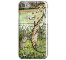 A little trust needs no words - Painted Version iPhone Case/Skin