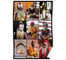 SADHUS OF INDIA AND NEPAL Poster