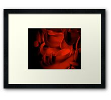 THE OTHER SIDE OF PASSION... Kauai Sensual Series Framed Print
