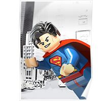 Lego Superman Poster