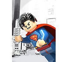 Lego Superman Photographic Print