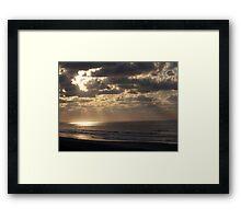 Shining Light Framed Print