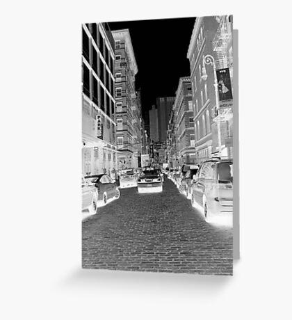 Greenwich Shopping NYC Greeting Card